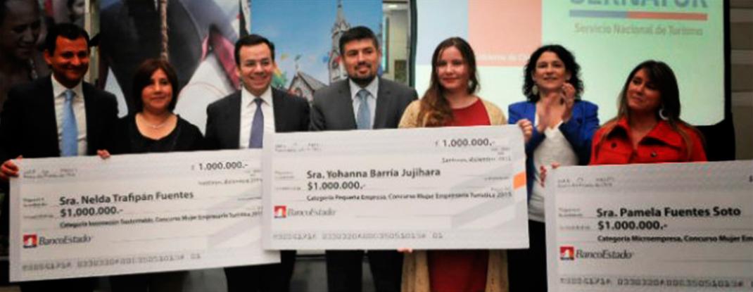 Concurso Mujer Empresaria Turística ya tiene ganadoras